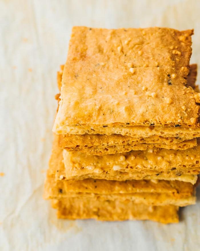 low carb movie snacks - crackers