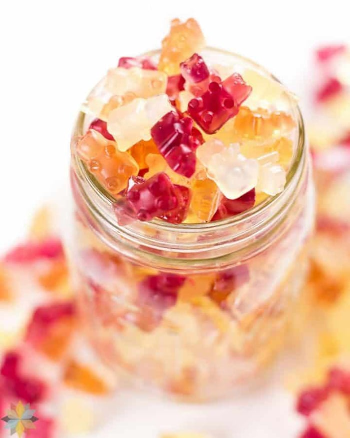 low carb movie snacks - gummy bears