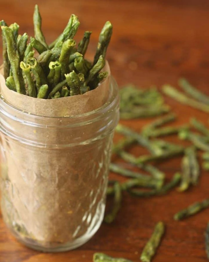 low carb movie snacks - green beans