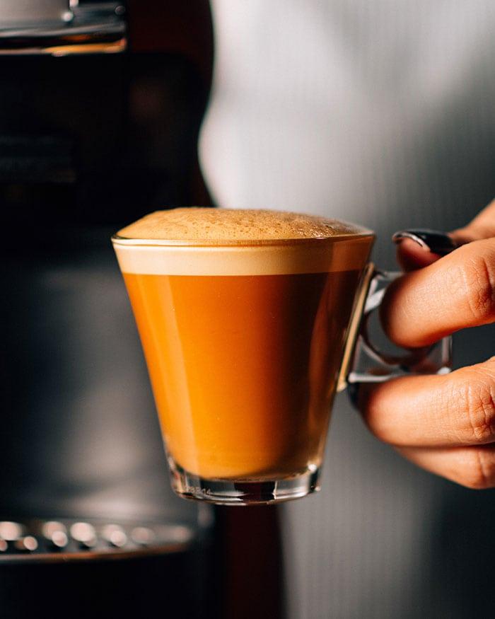 Pumpkin Spice Latte - homemade espresso