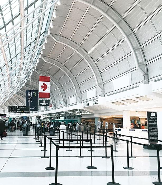 What Is TSA PreCheck - empty airport line
