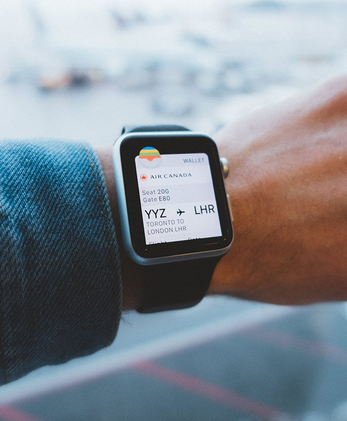 What Is TSA PreCheck - apple watch with airline ticket