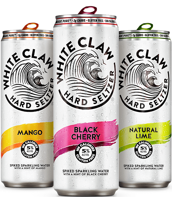 Hard Seltzers - White Claw