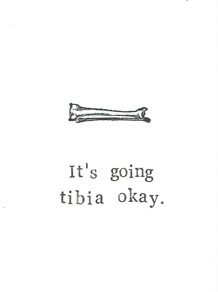 Bone Puns - Tibia Okay