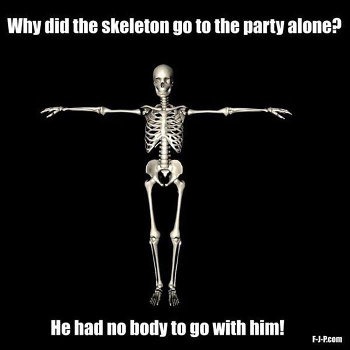 Bone Puns - No Body