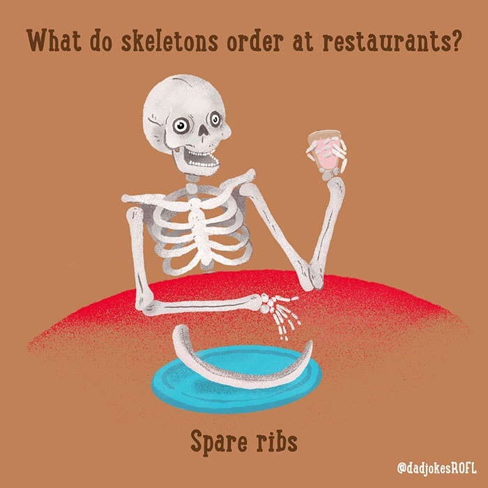 Bone Puns - Spare Ribs