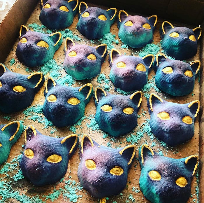 Goth Bath Bombs - Rainbow Cat