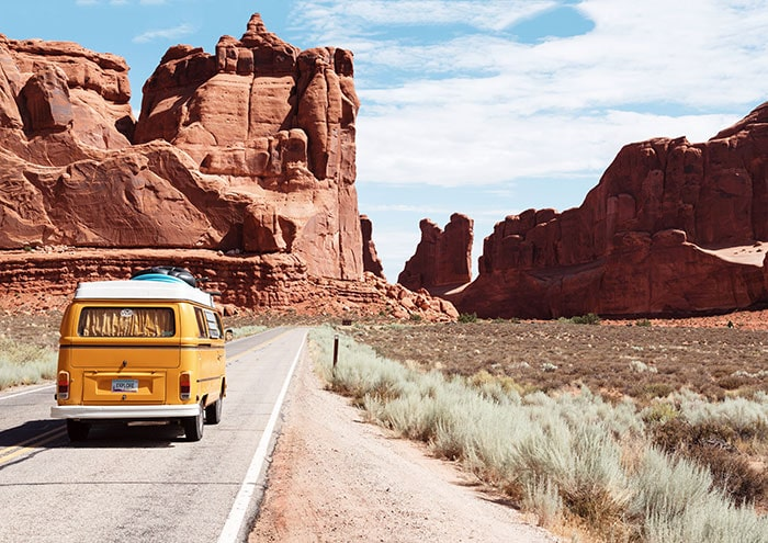 Is Travel Insurance Worth It - VW bus in Western United States