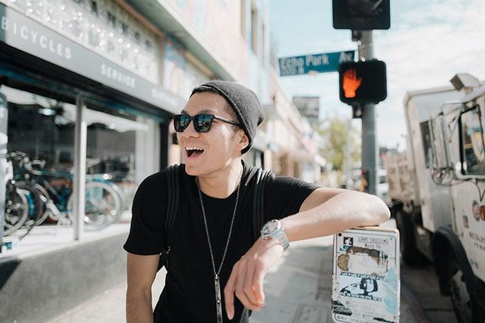 Millennial Slang and Gen Z Phrases - hip guy in Echo Park Los Angeles