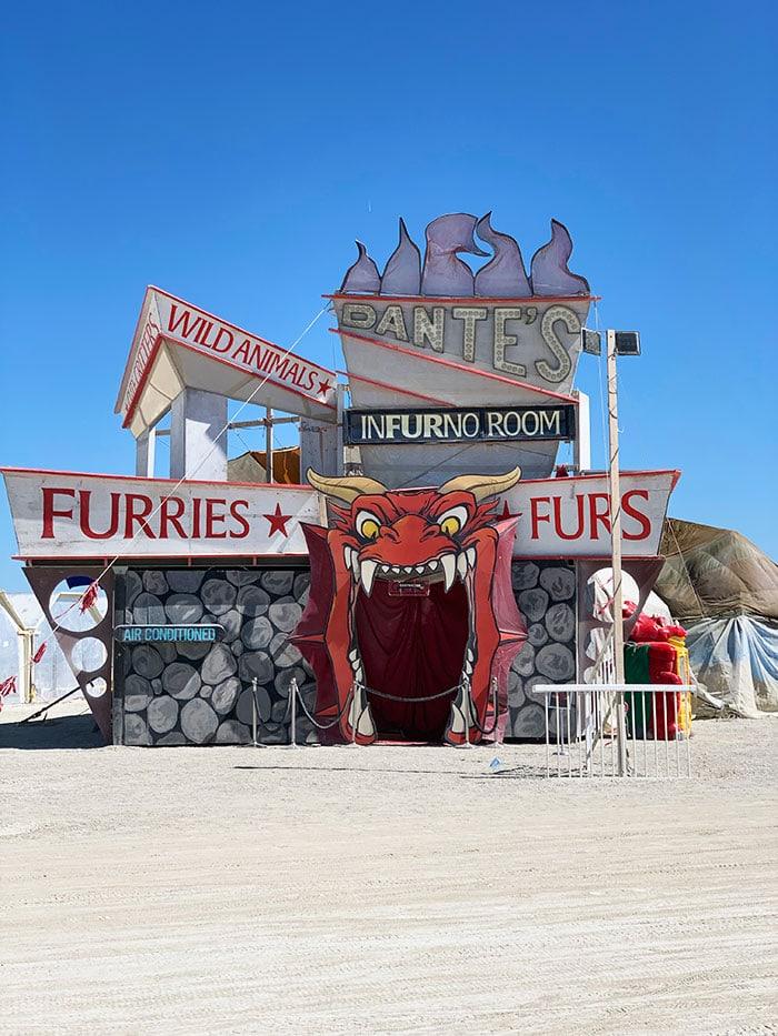 10 Principles of Burning Man - Dante's Infurno Camp