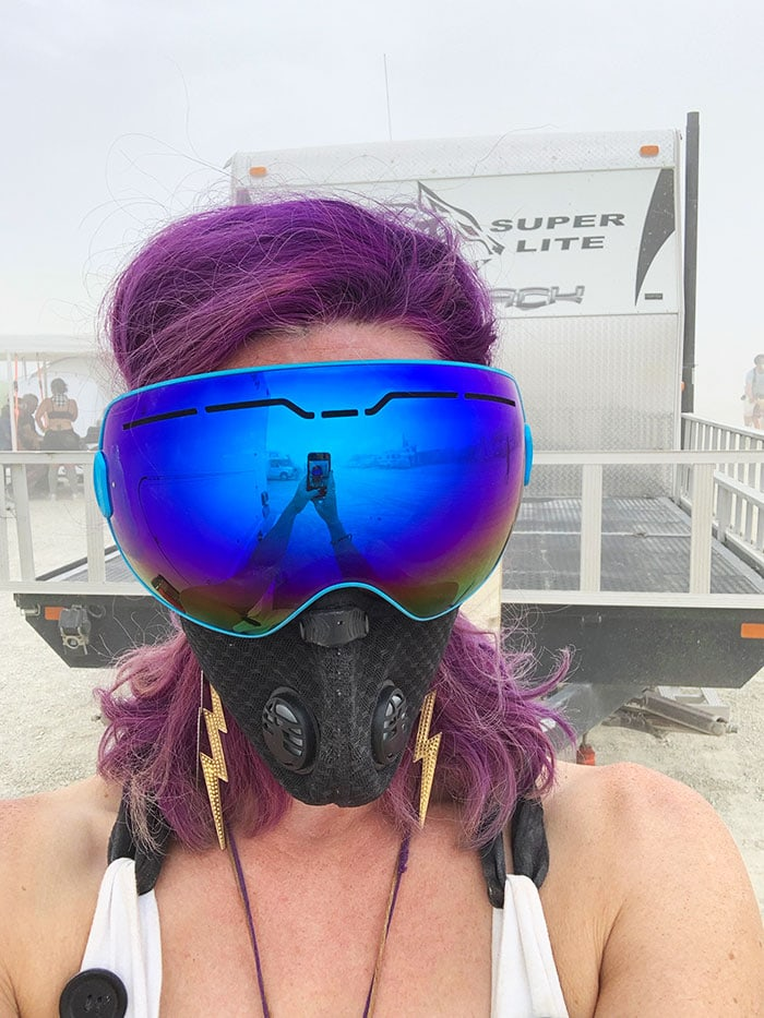 10 Principles of Burning Man - Dust Storm
