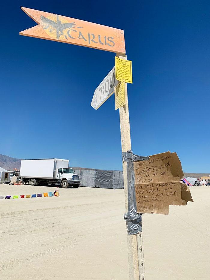 10 Principles of Burning Man - Icarus street