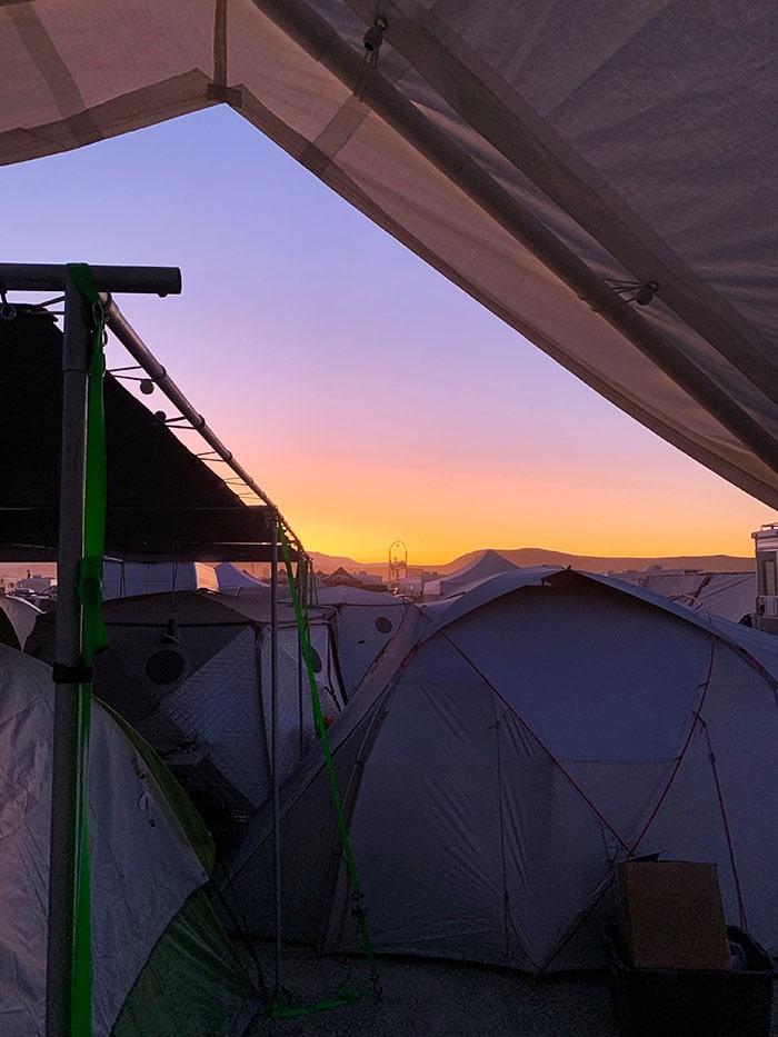 10 Principles of Burning Man - Black Rock Desert Sunset