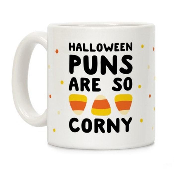 Halloween Puns - Corny