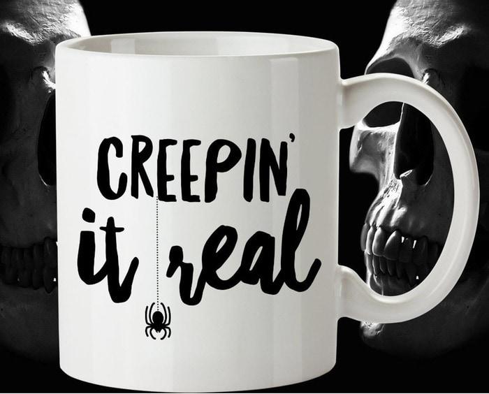 Halloween Puns - Creeping it Real