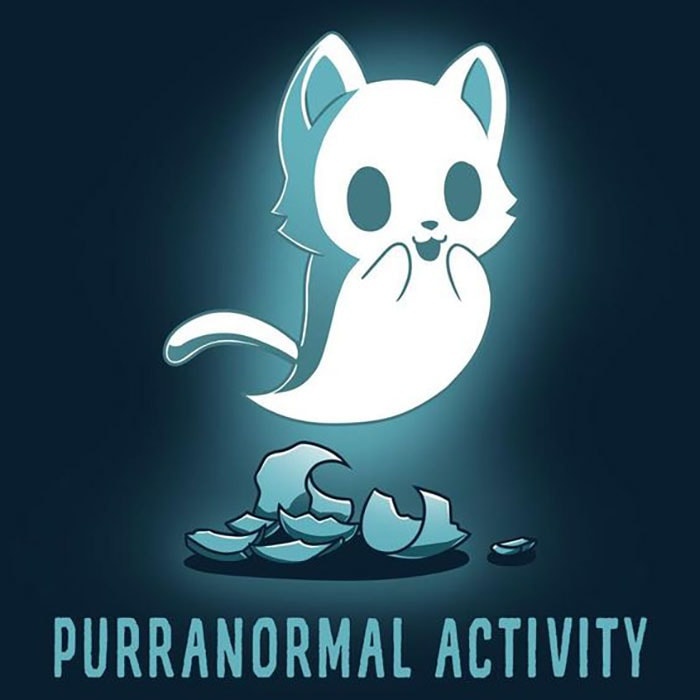 Halloween Puns - Purranormal Activity