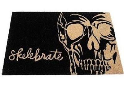 Halloween Puns - Skelebrate Doormat