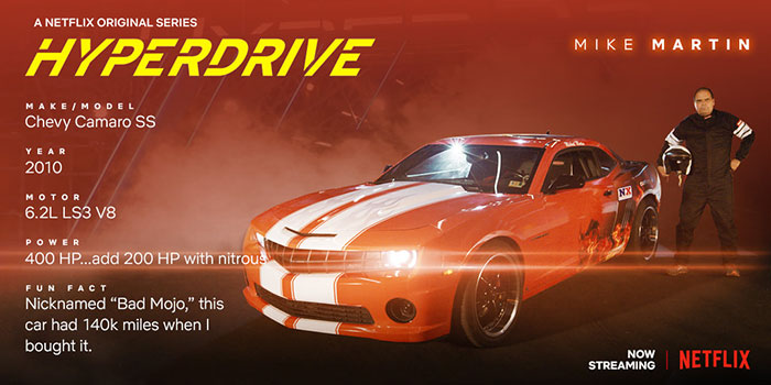 Hyperdrive - Mike Martin