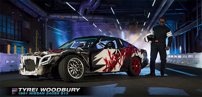 Hyperdrive - Tyrei Woodbury Angry Panda car