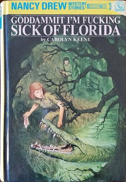 Nancy Drew Fake Book Covers - Sick of Florida