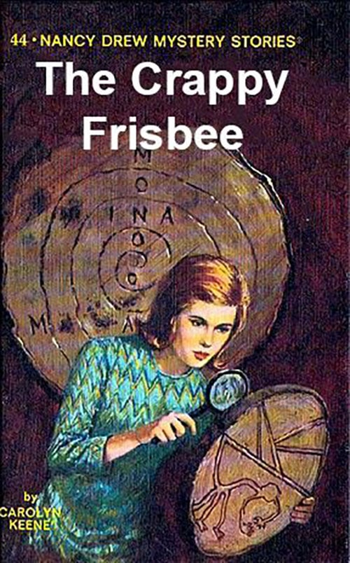 Nancy Drew Fake Book Covers - Frisbee