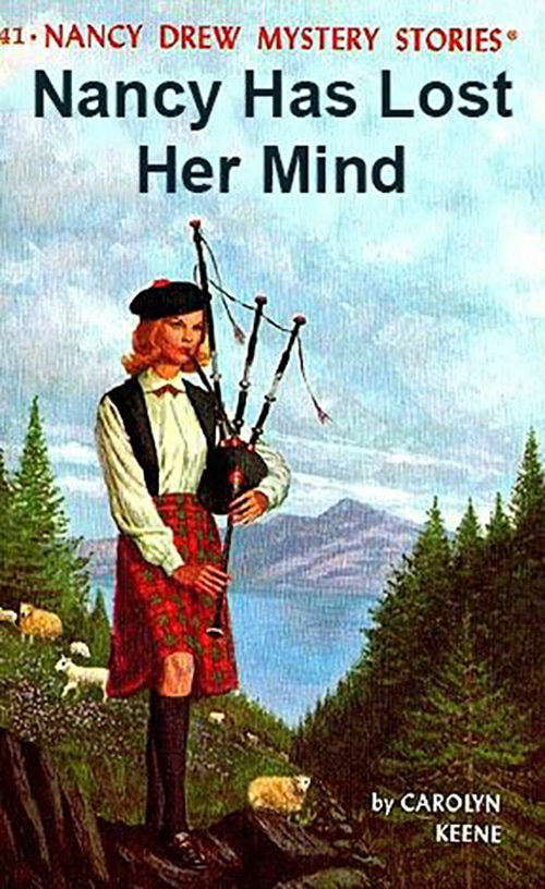 Nancy Drew Fake Book Covers - Lost Her Mind
