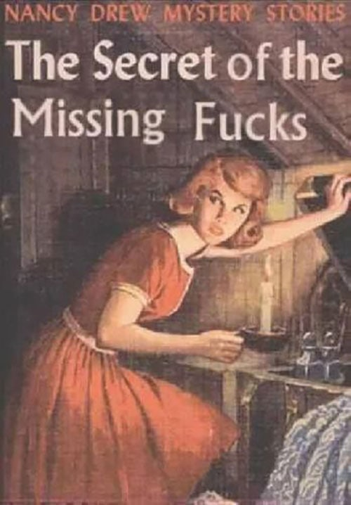 Nancy Drew Fake Book Covers - Case of the Missing