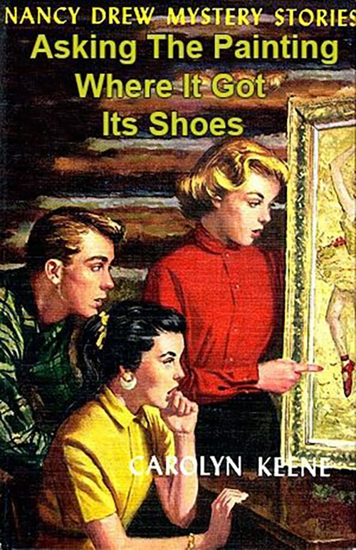 Nancy Drew Fake Book Covers - Where It Got Its Shoes