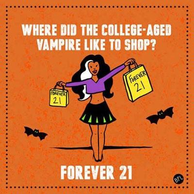 Vampire Puns - Forever 21