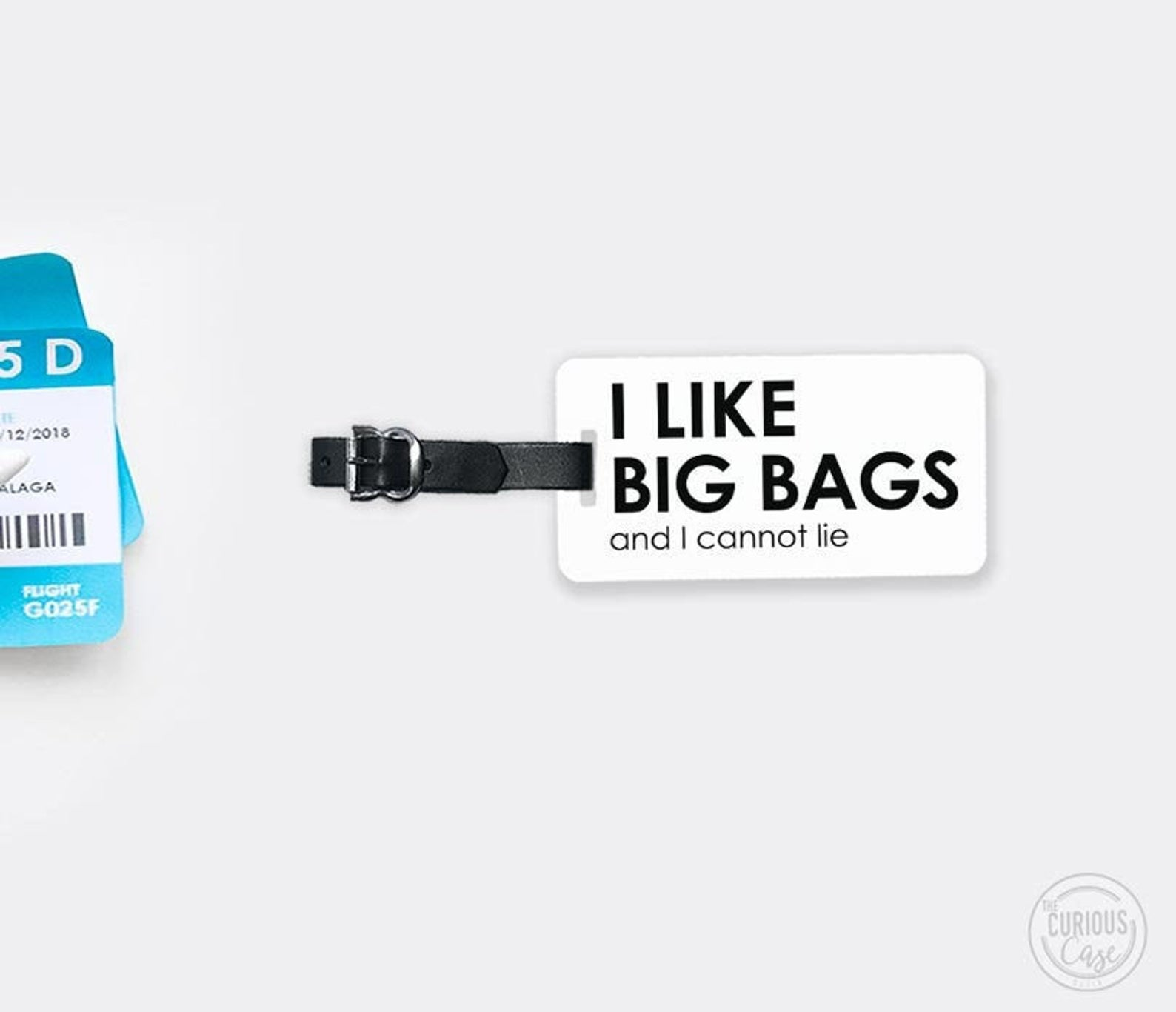 funny luggage tags - i like big bags and i cannot lie