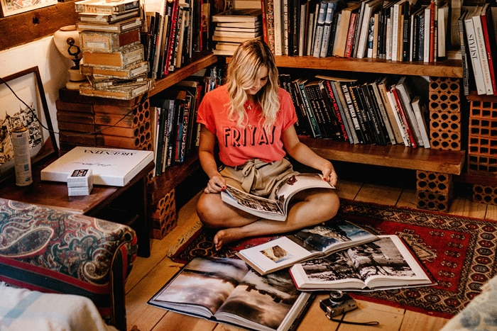 what is a hostel - woman reading books