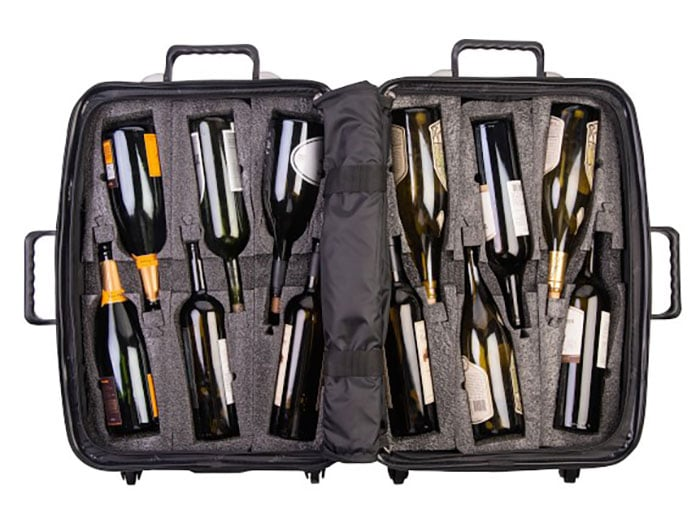 Can You Bring Wine on a Plane - Wine suitcase