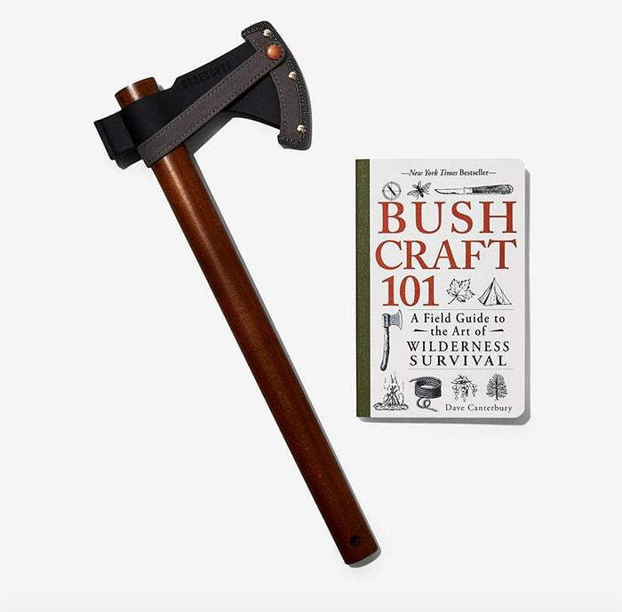 Gift Guide Under 100 - Bespoke Post Hatchet Wilderness Book