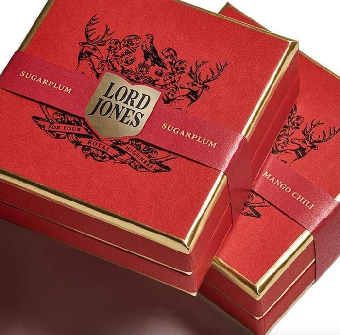 Gift Guide Under 100 - Lord Jones Holiday CBD Gummies