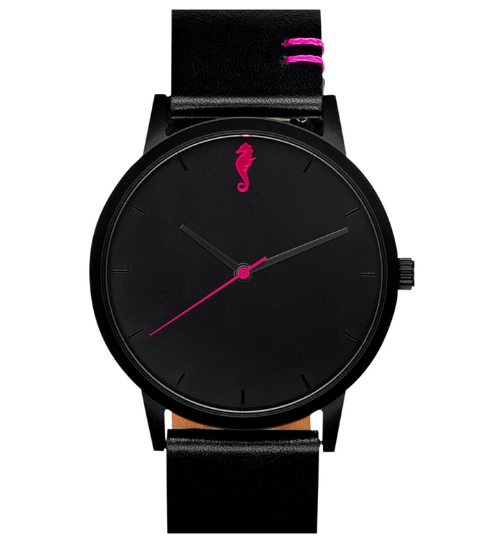 Maro Cevalo Black Pink Watch