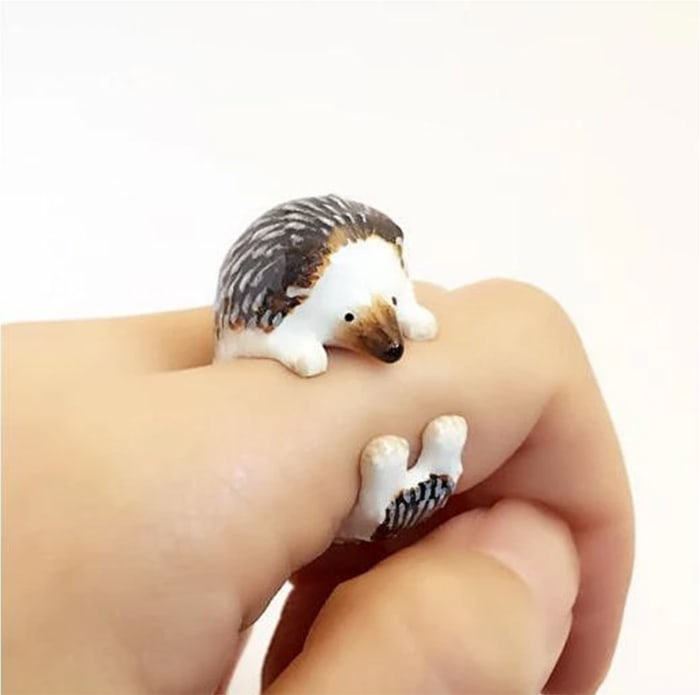 Mary Lou Hedgehog Ring