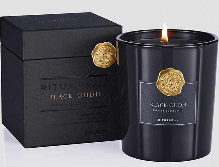 Gift Guide Under 100 - Rituals Candle Black Oudh