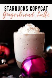 Gingerbread Latte Starbucks Copycat