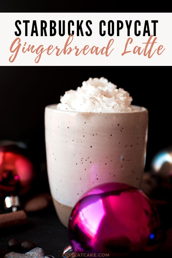 Gingerbread Latte Starbucks Copycat