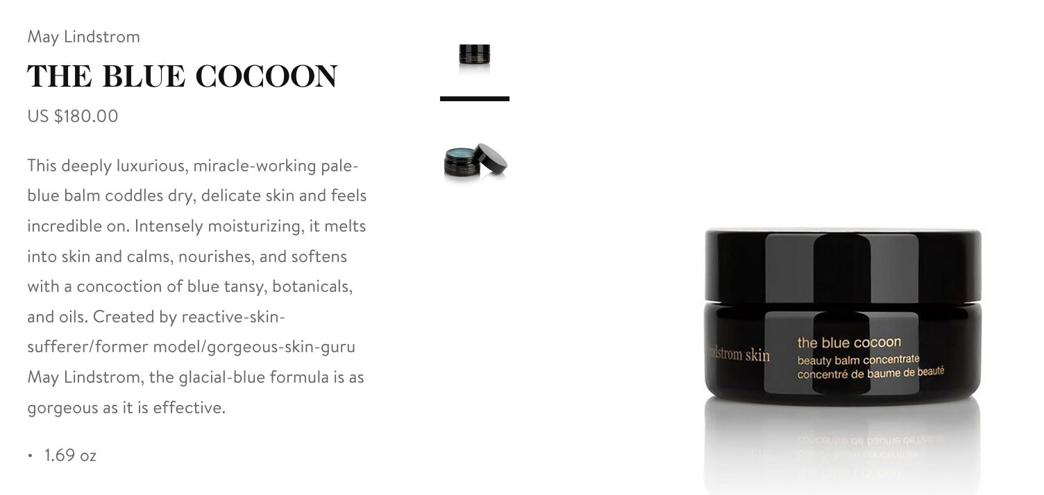 Goop Gift Guide - May Lindstrom Blue Cocoon Balm