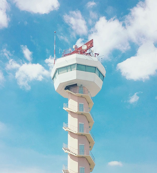 Lost Luggage - air traffic control tower