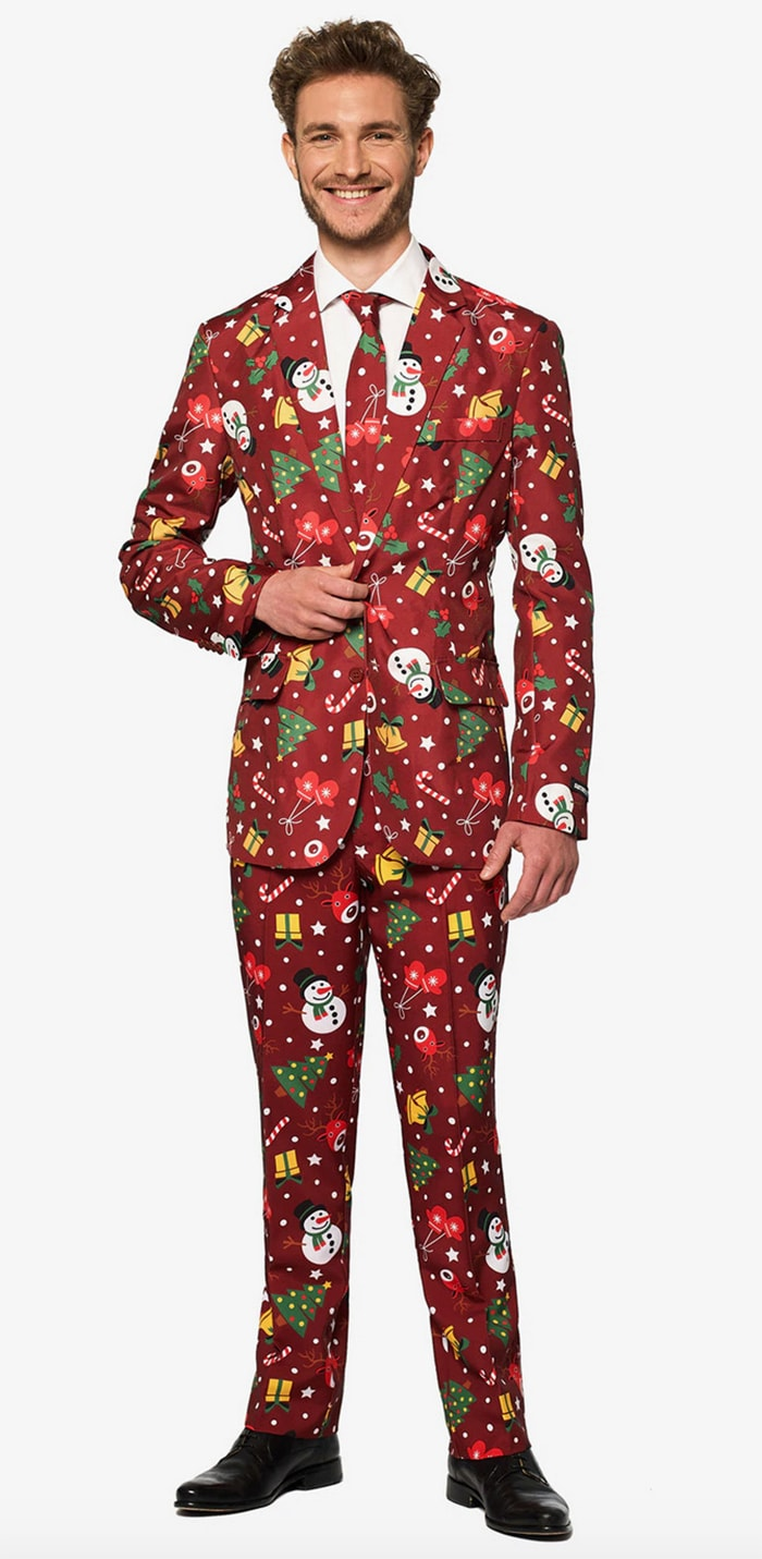 Tacky Christmas Party Ideas - Suitmeister Light Up Christmas Suit