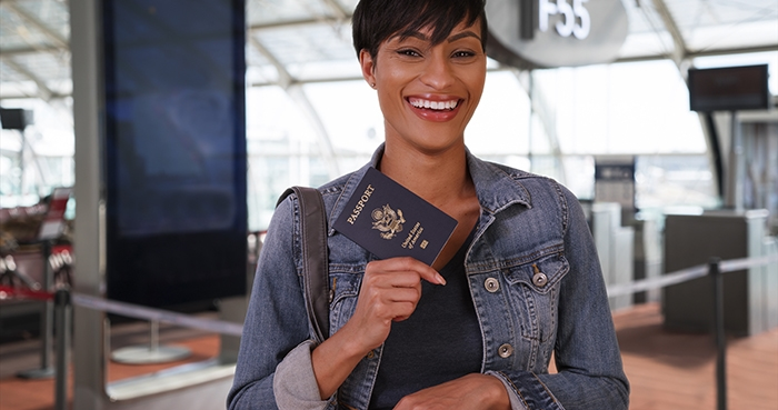 How to Get a Passport - Woman in Airport