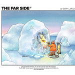 The Far Side Comics Online - thawing cow