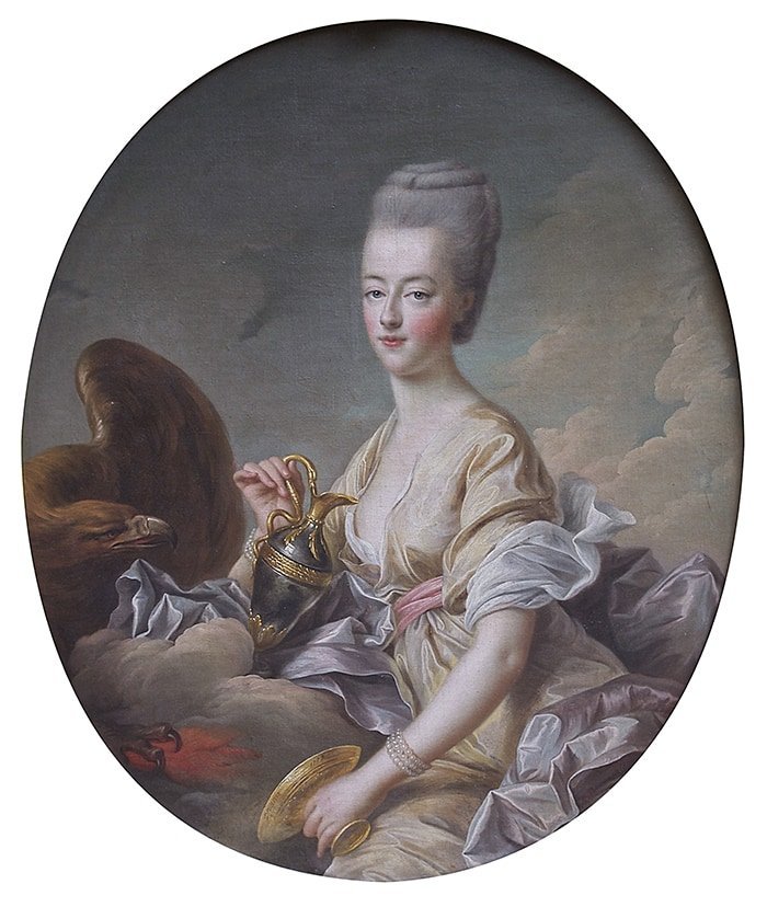 Let Them Eat Cake - Marie Antoinette painting Hébé Drouais Chantilly