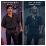 Witcher Memes - Friends Ross