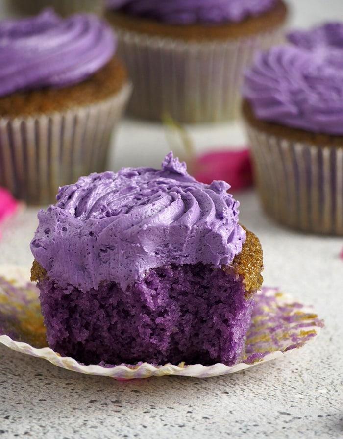 Ube Desserts - Cupcakes