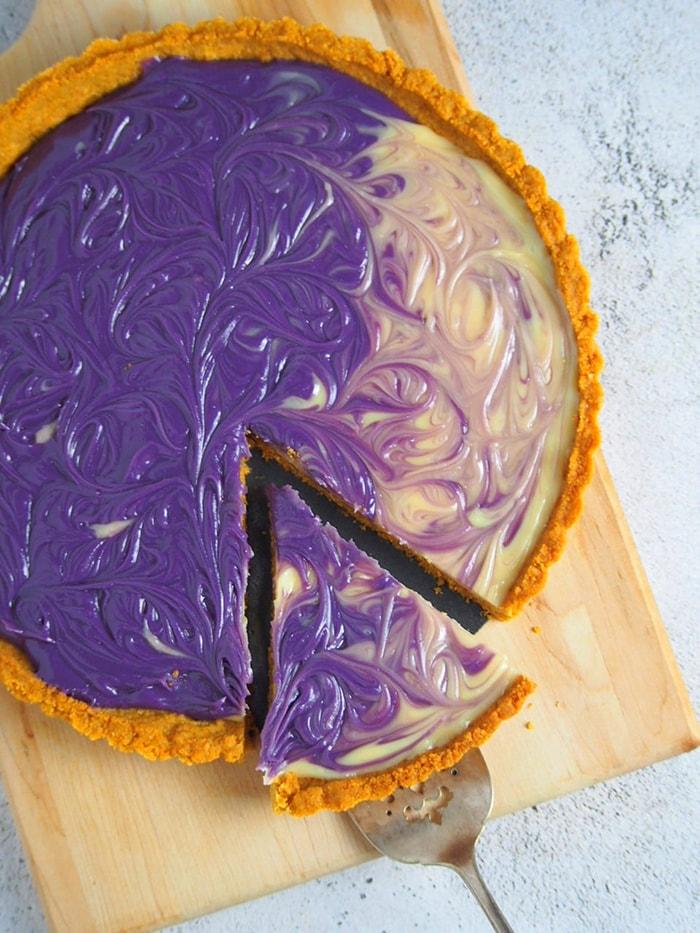 Ube Desserts - Custard Tart