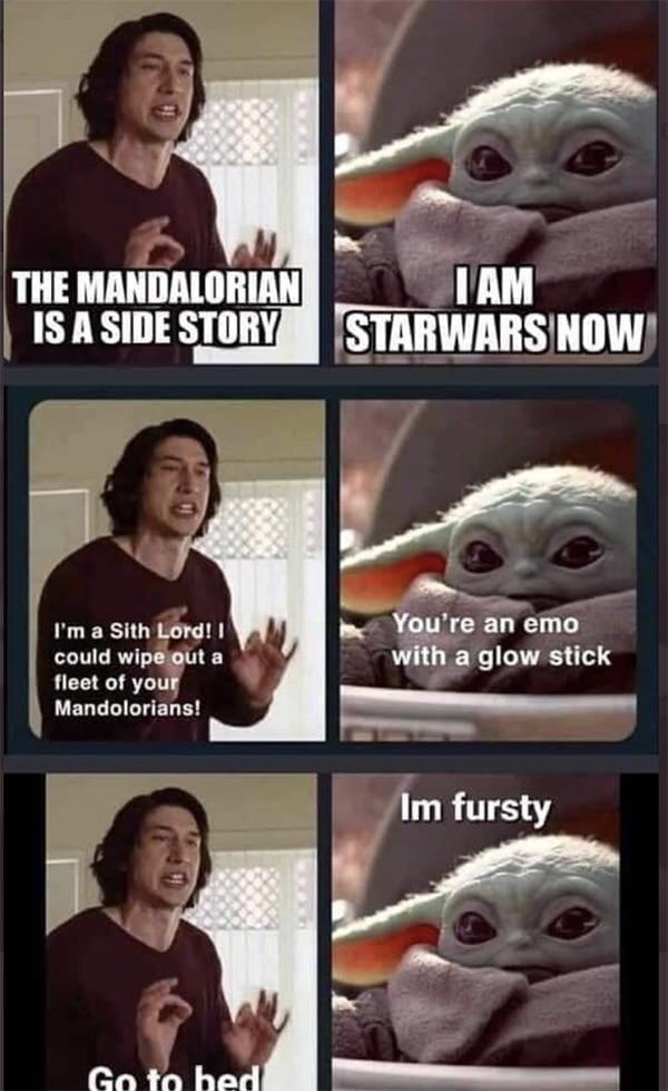 Baby Yoda Memes - Kylo Ren Wedding Story