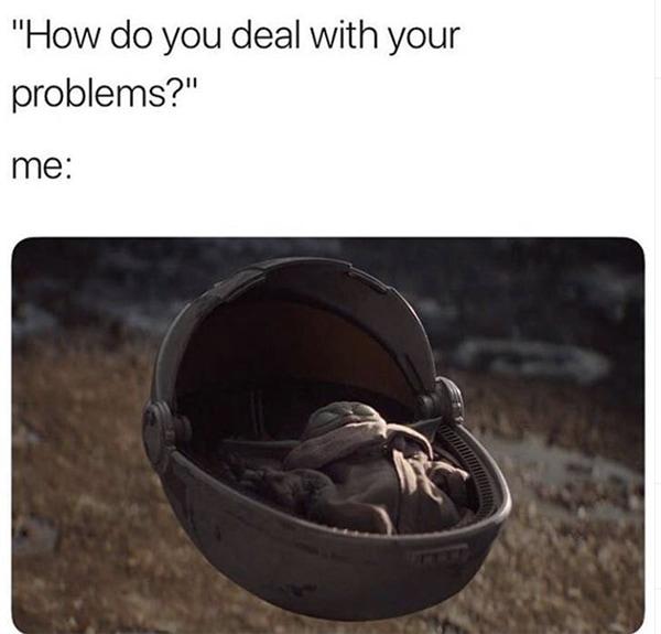 Baby Yoda Memes - Nap